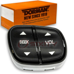 Dorman Driver Information Display Switch For Chevy Avalanche 1500 2003 2006 Dw
