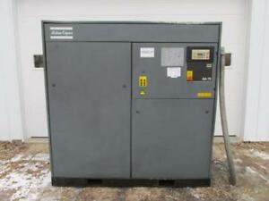 Atlas Copco Ga75 Rotary Screw Air Compressor 3 Ph 100 Hp 462 Cfm 50239 Hours