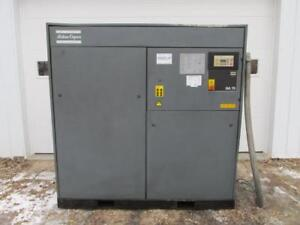 Atlas Copco Ga75 Rotary Screw Air Compressor 3 Ph 100 Hp 100 Psi 462 Cfm