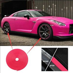Car Wheel Rim Edge Protector Tire Guard Rubber Strip Ring Sticker Professional