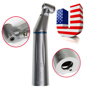 Dental Led Fiber Inner Water Low Speed Contra Angle Handpiece Kavo Style