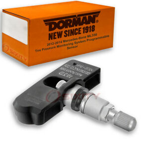 Dorman Tpms Programmable Sensor For Mercedes benz Ml350 2012 2014 Tire Hu