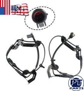 Abs Speed Sensor Harness For Ford Escape Yl8z2c205ab Front Left Right Pair