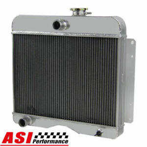4 Row Aluminum Radiator For 1946 1964 Willys Truck Pickup Station Wagon
