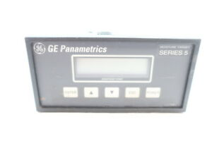 General Electric Ge Mts5 351 10 Panametrics 24v dc Moisture Analyzer