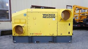 2011 Wacker Hi750 Indirect Diesel Fired Construction Air Heater Low Hours