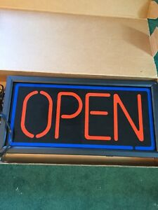 1 X 2 Bright Led open Sign