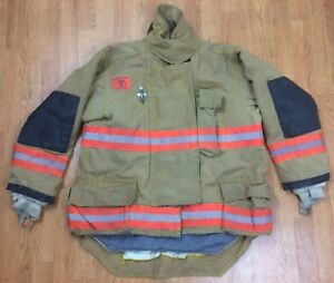 Morning Pride Firefighter Bunker Turnout Jacket 48 Chest X 34 Length