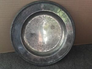 Used International Silver Company Round Dish