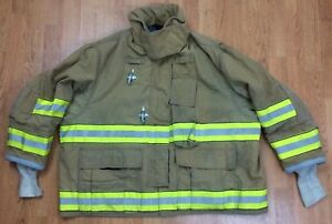 Globe Gx 7 Firefighter Bunker Turnout Jacket 50 Chest X 29 Length