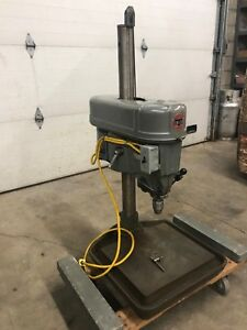 Rare Delta Rockwell 15 15 660 Adjustable Bench Top Variable Speed Drill Press