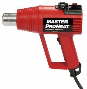 Master Appliance Electric Heat Gun 240vac Variable Temp Settings 130 To