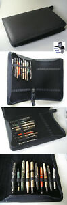 Kaweco Fountain Pen Holder Leather Wallet Presentation Folder For 40
