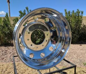 1 19 5 X 6 Ford F450 550 Alcoa Wheel Dodge 4500 5500 763297 Polished Both Sides
