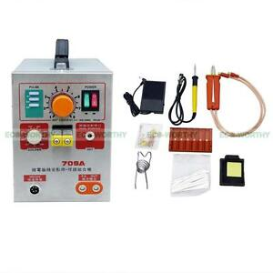 2 In 1 709a 60a Battery Spot Welder Weld Mobile Welding Soldering Iron Lab New