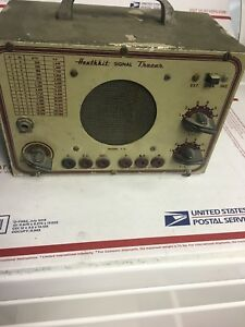 Vintage Heathkit Audio Signal Tracer Heathkit Handitester 2 Items