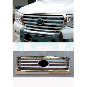 For Toyota Land Cruiser Lc100 Fzj100 2006 07 Gold Gray Front Bumper Grille Ey