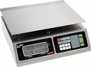 New 40 Lbs Capacity Deli Food Meat Computing Digital Scale No Built In Printer