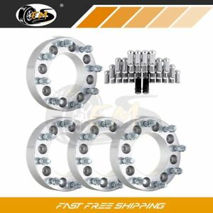 Fit Chevy Express 2500 2 8x165 1 To 8x180 Wheel Spacers 14x1 5 32pcs Lug Nuts