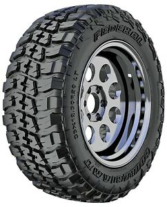 4 New Federal Couragia M t Lt285 70r17 121 118q E 10 Ply Mt Mud Tires