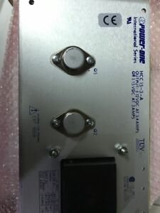 Used Excellent Power One Hcc15 3 a 15vdc 3a 2 Rail Power Supply