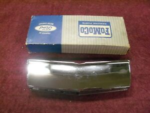 1963 Mercury Center Grille Ornament Nos C3my 8a223 A Monterey S 55 Colony Park