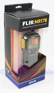 Flir Mr176 Thermal Imaging Moisture Meter Plus With Igm temperature And Humid