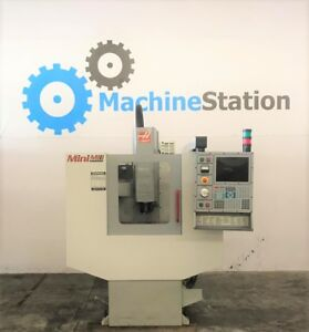 Haas Mini Mill Vertical Machining Center Vf1 0 2 Cnc Mill Vmc