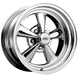 15 Inch Cragar 61c S S 15x10 5x4 75 32mm Chrome Wheel Rim