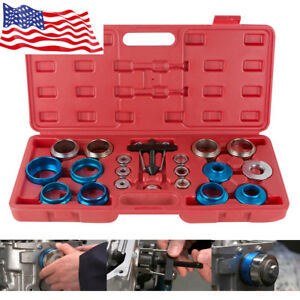 20pcs Auto Car Camshaft Bearing Remover Installer Tool Set Crank Seal Removal Us