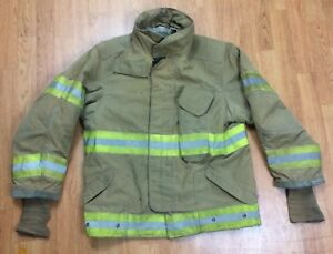 Janesville Firefighter Bunker Turnout Jacket 42 Chest X 29r Length