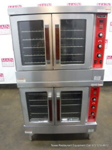 Vulcan Sg4d Gas Double Deck Full Size Convection Ovens