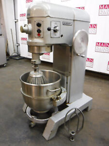 Hobart H 600t Donut Dough Mixer 60 Quart 60 Qt Bowl Dolly Whip Paddle