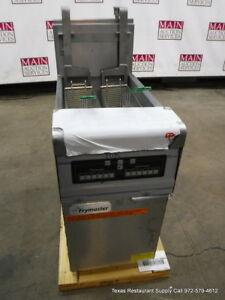 New Frymaster Ph155blcsc Gas Computer Magic Digital Deep Fryer With Basket Lift
