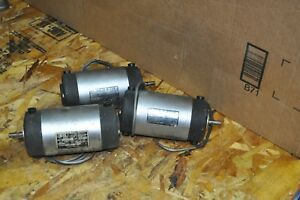 Lot Of 3 Electro Craft Ec Motormatic Napco Dc Servo Motor Model E600003 Used
