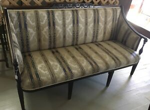 Vintage Victorian Sofa Couch Lovely Details