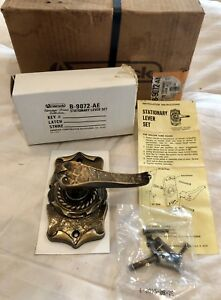 Amerock Carriage House Antique English Stationary Lever Door Knob Vintage 10 New