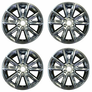 Set Of New 22x9 Replacement Chevy Suburban1500 Tahoe 15 17 Oem Quality Rim 5696