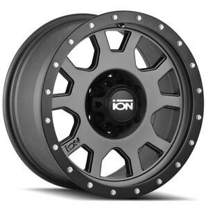4 New 15 Inch Ion 135 15x8 5x120 65 20mm Gunmetal Wheels Rims