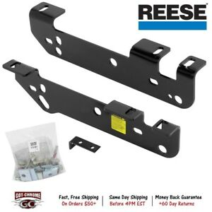 50074 Reese Fifth Wheel Hitch Quick Install Brackets Ford Super Duty 2017 2019