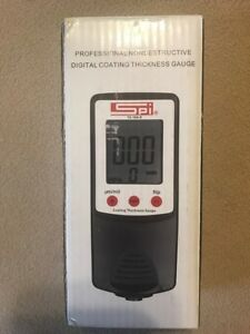 Spi 15 144 9 Ferrous Nonferrous 0 To 40 Mil Digital Coating Thickness Gage