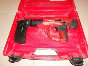 Hilti Dx 460 Powder Actuated Nail Gun With Mx 72 Magazine