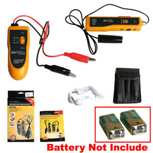 From Usa Nf 816 Underground Wire Locator Tracker Lan With Earphone Cable Tester