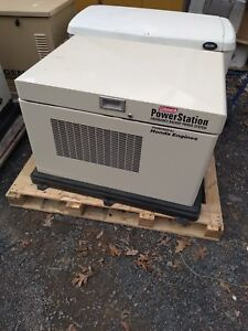 Honda 9700 Watt Lp Nat Gas Generator Coleman Powermate Outdoor Sound Enclosure
