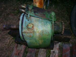 Vintage Oliver 1650 Diesel Tractor hydra Power Drive Unit 1966