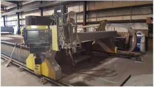 Esab Hydrocut Plasma And Water Jet Combination 60 000 Psi 12 X 40 Table 50 Hp