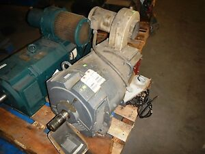 75 Hp Dc Baldor Electric Motor Very High Starting Torque 650 1600 Rpm Powerful
