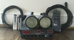 Kustom Signals Golden Eagle Police Radar 2 Antennas Remote Forks Cables Ka Band