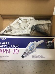 Towa Ap 30 Label Applicator Brand New In Box Complete