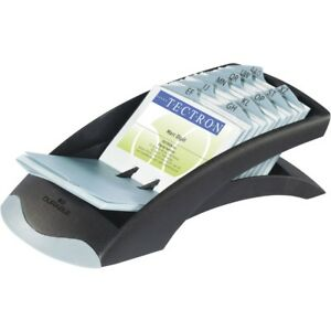 Visifix Desk Business Card File 200 Card Capacity For 2 88 X 4 13 Size